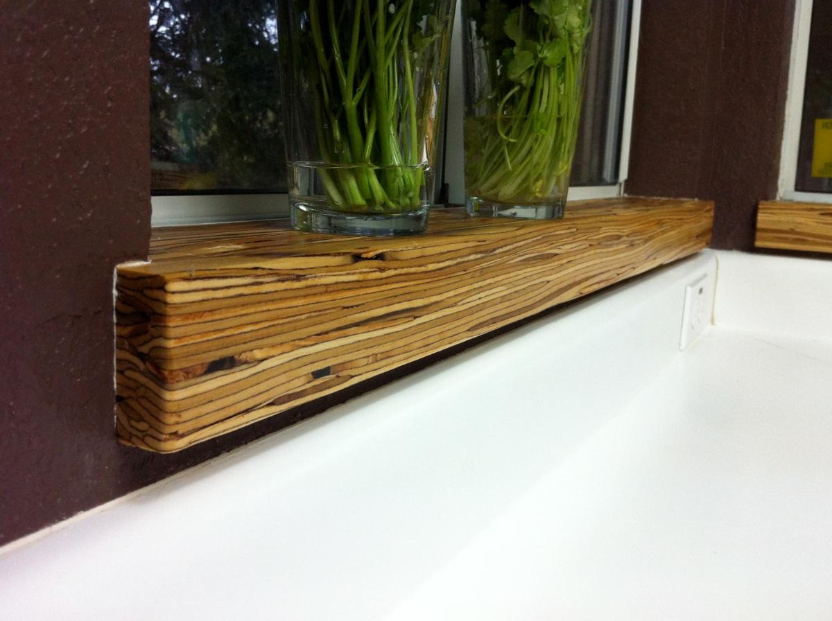 Modern Parallam Window Stools
